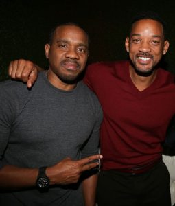 HOLLYWOOD, CA - JANUARY 25: (L-R) Duane Martin, Will Smith and Kevin Hart attend NE-YO & Compound Entertainment 6th Annual GRAMMY Midnight Brunch at Lure on January 25, 2014 in Hollywood, California. (Photo by Johnny Nunez/WireImage)